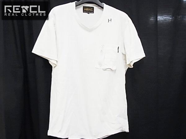 ハバノス/HABANOS MILITARY COTTON Tシャツ ホワイト L