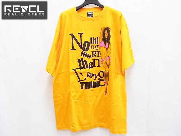 実際に弊社で買取させて頂いたDEVILOCK/デビロック×RIO フォトプリントTシャツ オレンジ/XL