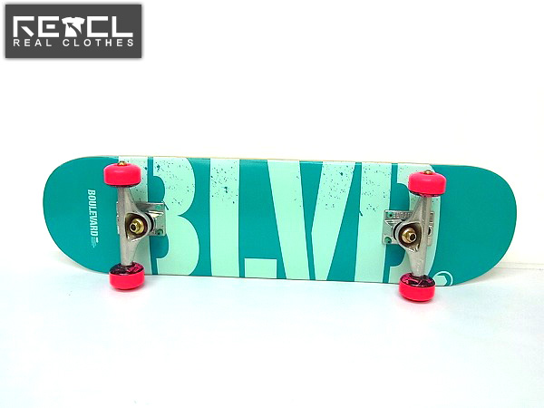 BLVD スケボー/スケートボード コンプリートセット/完成品