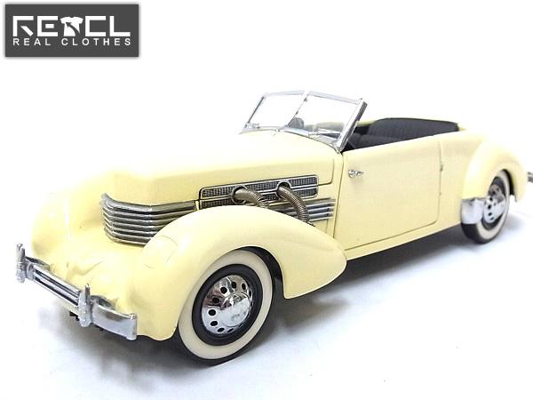 フランクリンミント社 1/24 1937年型コード812 クラシックカー
