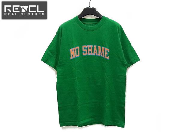 HECTIC/ヘクティク 半袖Tシャツ トップス グリーン/オレンジ M