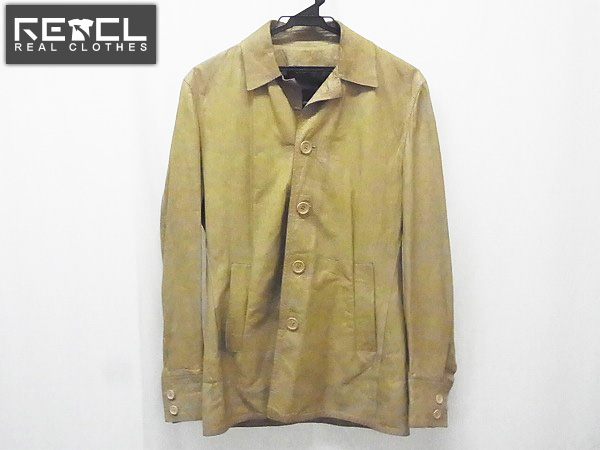 CoSTUME NATIONAL/コスチュームナショナル レザージャケット/44