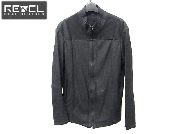 ISAACSELLAM/アイザックセラム レザージャケット ブラック L