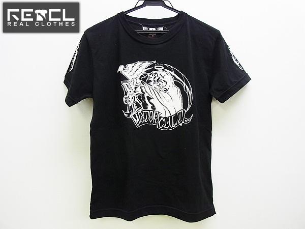 未使用/RUSSELL ATHLETIC×BLACKTOP MOTORECYLCE コラボTシャツM