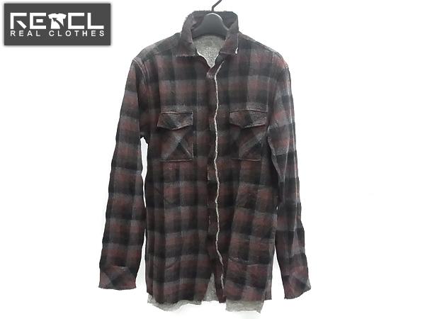 Luva Tram/ルーバトラム ウールシャツジャケット カットオフ/L