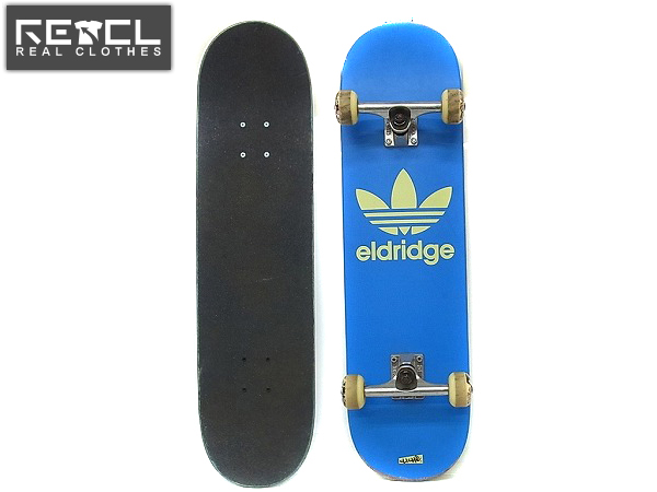 CLICHE×adidas Eldridge OGコラボスケートボード/完成品