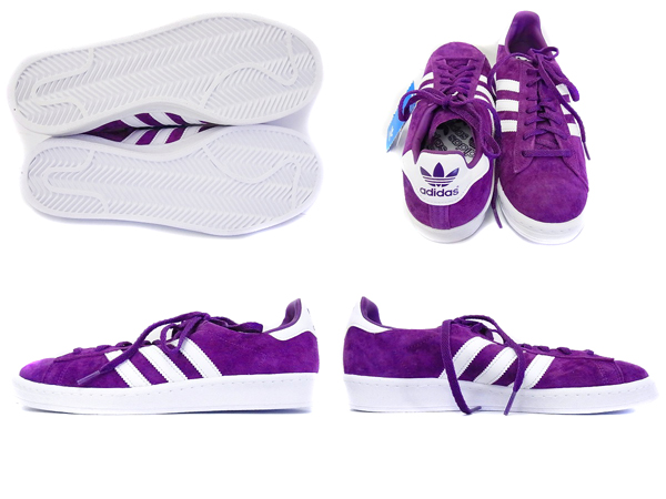 adidas 紫 スニーカー