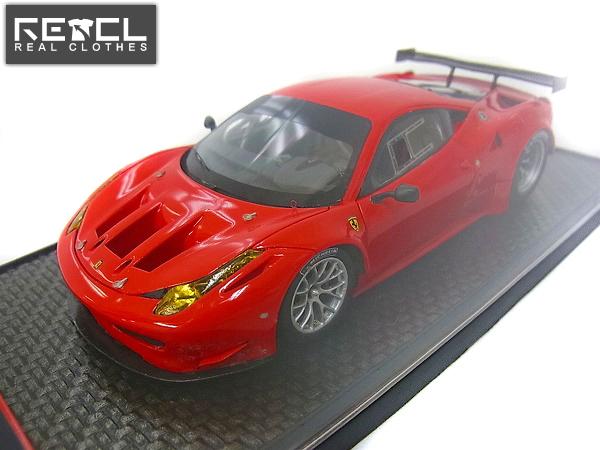BBR 1/43 フェラーリ 458 ITALIA GT2 2011 レッド 50台限定