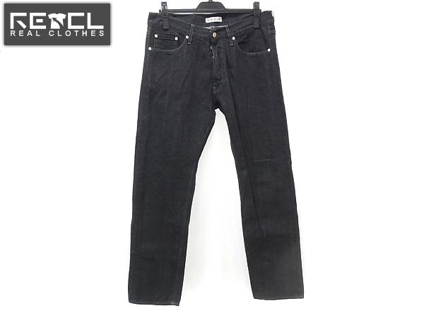 acne jeans/アクネジーンズ コットンデニムパンツ ブラック/32