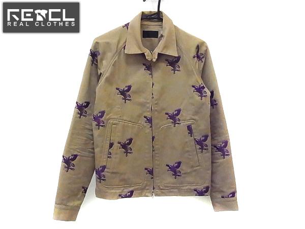 COALBLACK/コールブラック スイングトップ 刺繍ジャケット/S