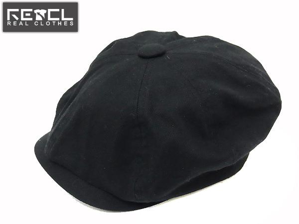 COAL BLACK/コールブラック コットンキャスケット ブラック M