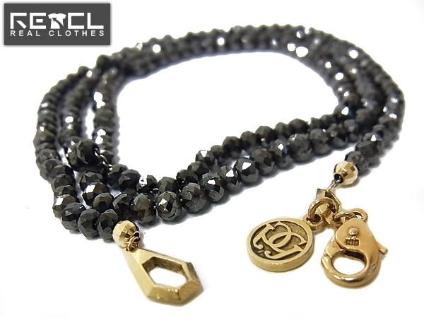 CORE JEWELSコアジュエルスALECTネックレス 18K/ブラックダイヤ