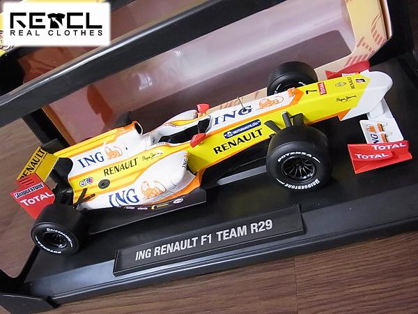 NOREV/ノレブ ING ルノーF1チーム R29 レイシングカー1/18