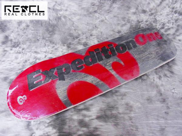 [未使用]エクスペディションワン 木目調 スケートボードデッキ