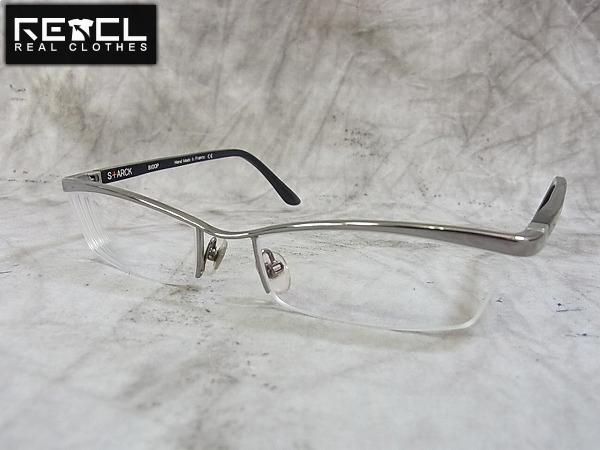 Starck eyes×alain mikli 眼鏡フレーム ガンメタ SH0001-0021
