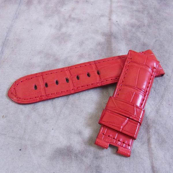 OFFICINE PANERAI/オフィチーネパネライ 腕時計用 純正ベルト レッド