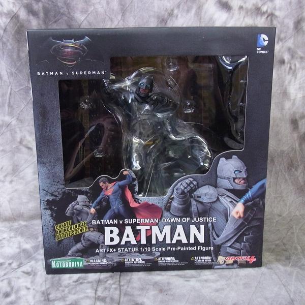 【未開封】壽屋/コトブキヤ ARTFX+ バットマン v スーパーマン/DAWN OF JUSTICE バッドマン 1/10
