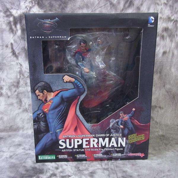 【未開封】壽屋/コトブキヤ ARTFX+ バットマン v スーパーマン/DAWN OF JUSTICE スーパーマン 1/10